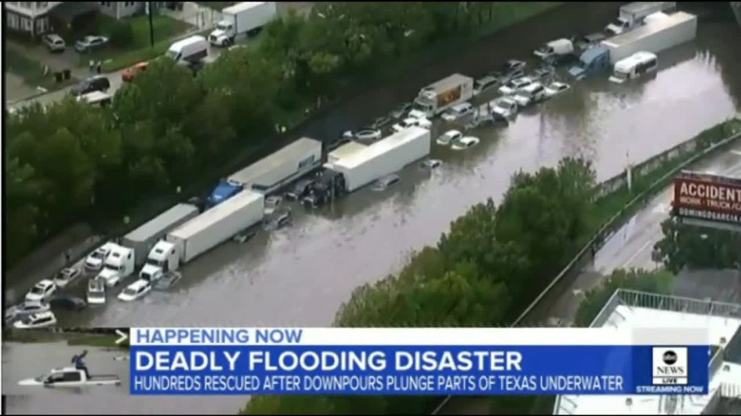 Houston Flooding Disaster Happening Now Death Toll Rises To 5