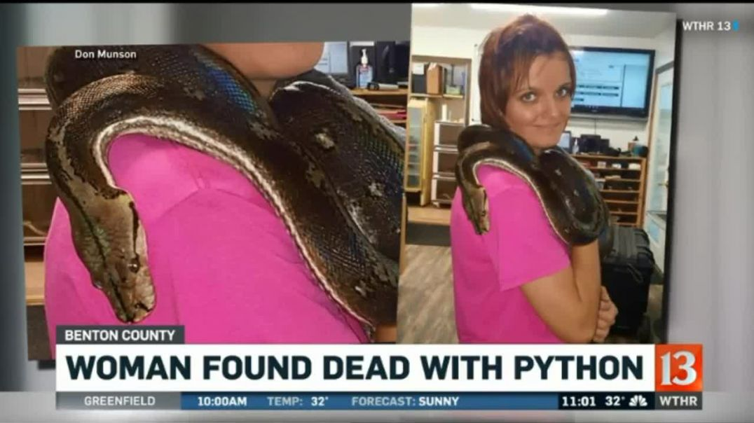Indiana Snake Handler Found Dead With Python Wrapped Around Her Neck