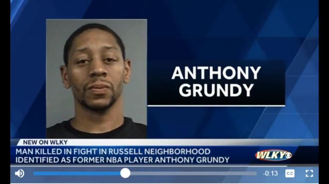 Former NBA Player Anthony Grundy Dead Stabbed To Death