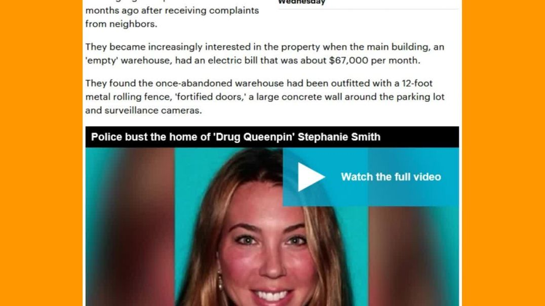 Drug Queenpin Busted For Massive Marijuana Grow Operation