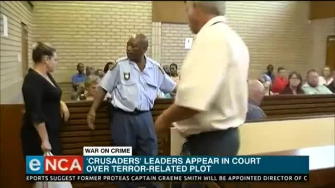 White on Black Crime: Christian Resistance Movement terrorist plan to bomb South Africa arrested