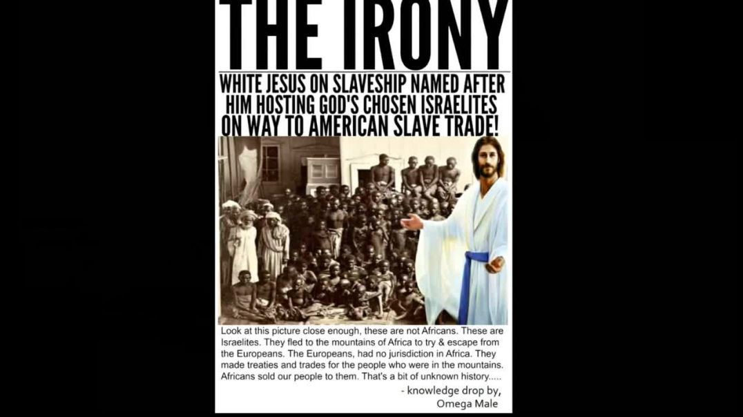 JESUS THE SLAVE SHIP !! PAGAN IDOL OF THE HEATHENS !! COME OUT OF HER !!