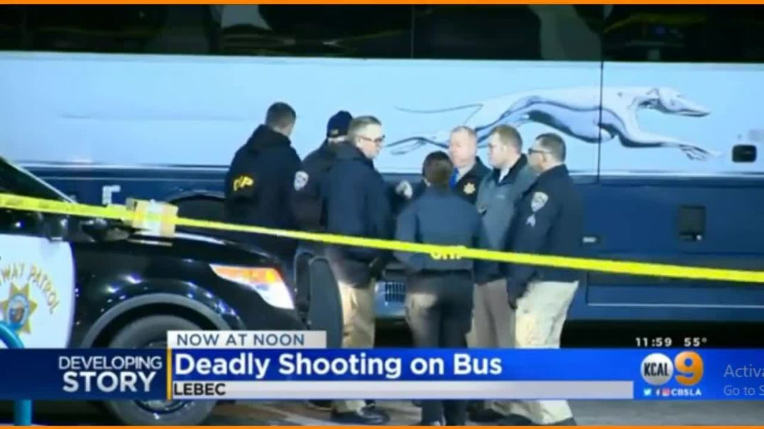 Mass Shooter Opens Fire On Greyhound Bus Killing 1 Injuring 5