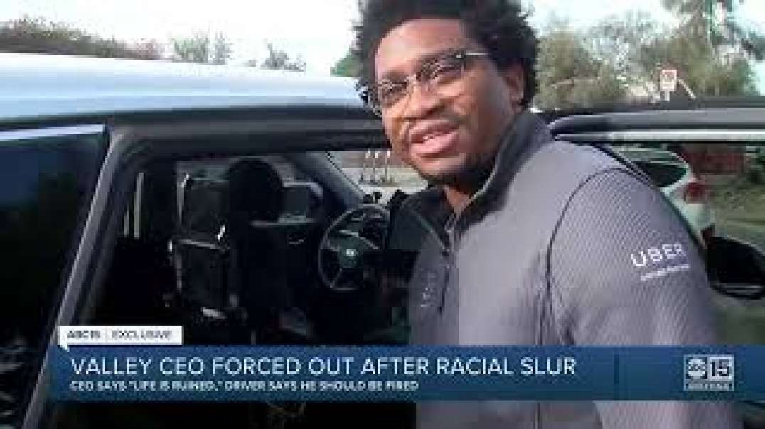 White CEO Kicked out of his own company after verbally abusing Uber Driver with racial slurs.