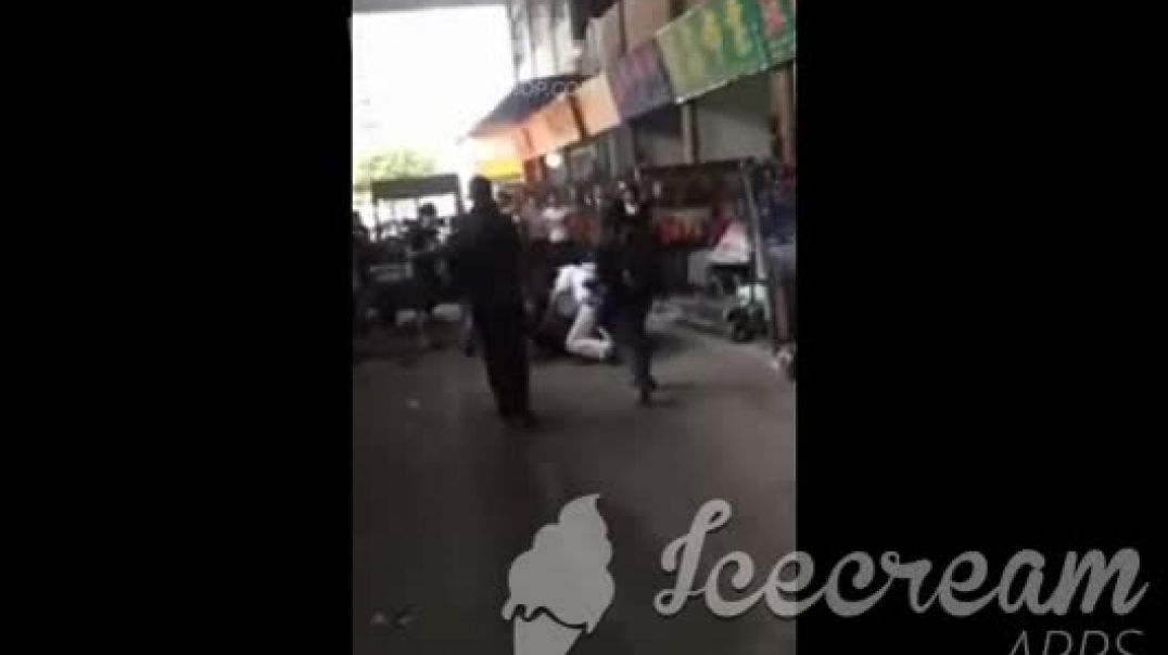 African Tourist Beat For Nothing By Chinese Savages In Guangzhou China