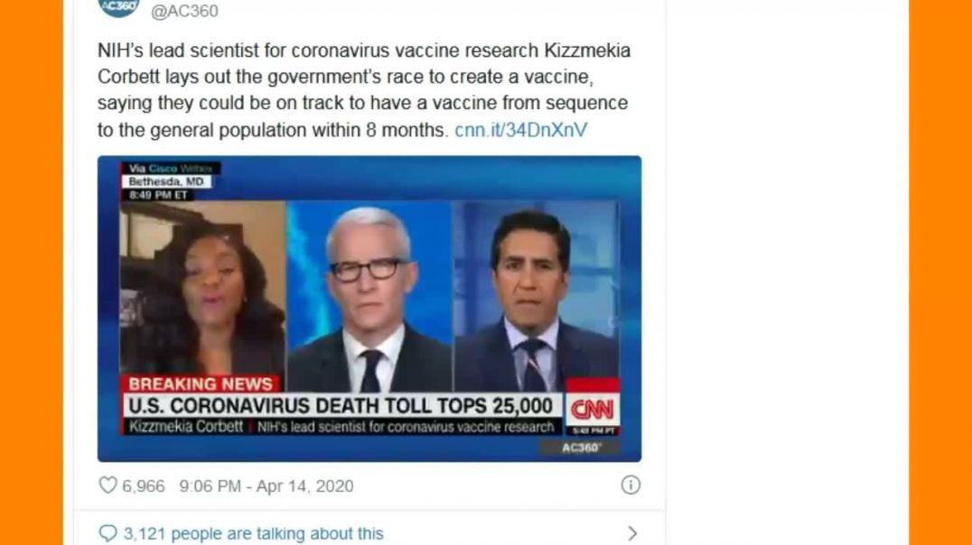 Lead Vaccine Researcher Agree: CV Used To Murder Black Americans In A Genocide