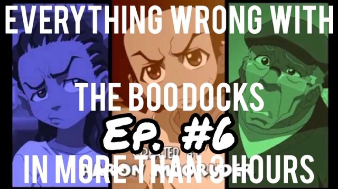 EWW The Boondocks: Episode 21 (The Attack of the Killer Kung-Fu Wolf Bitch) (Made in 2017)