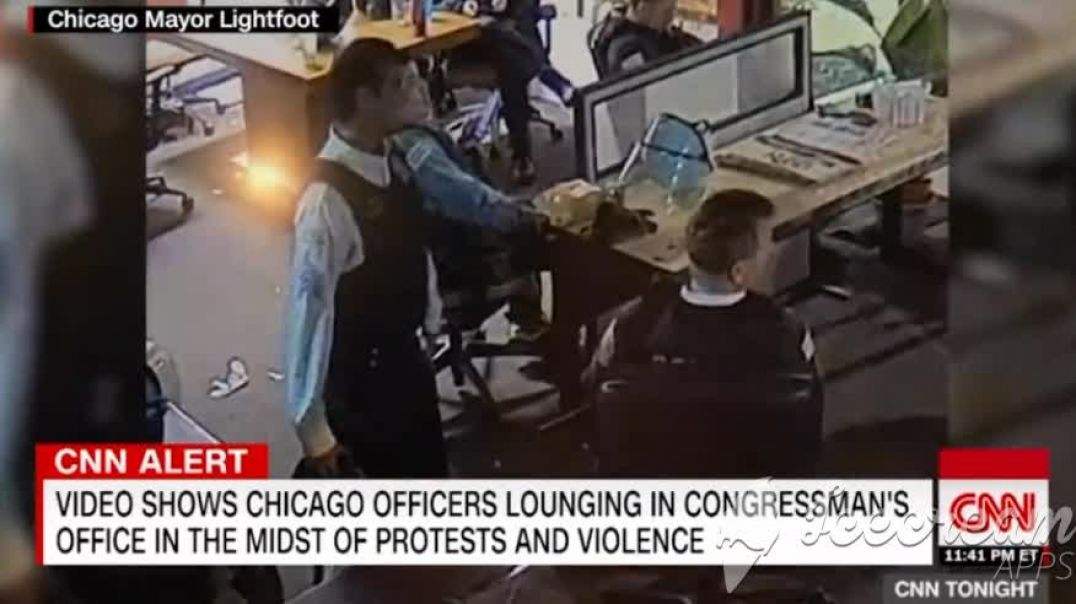 Chicago Cops Leave Their Posts During Protests Caught Lounging In State Reps Office