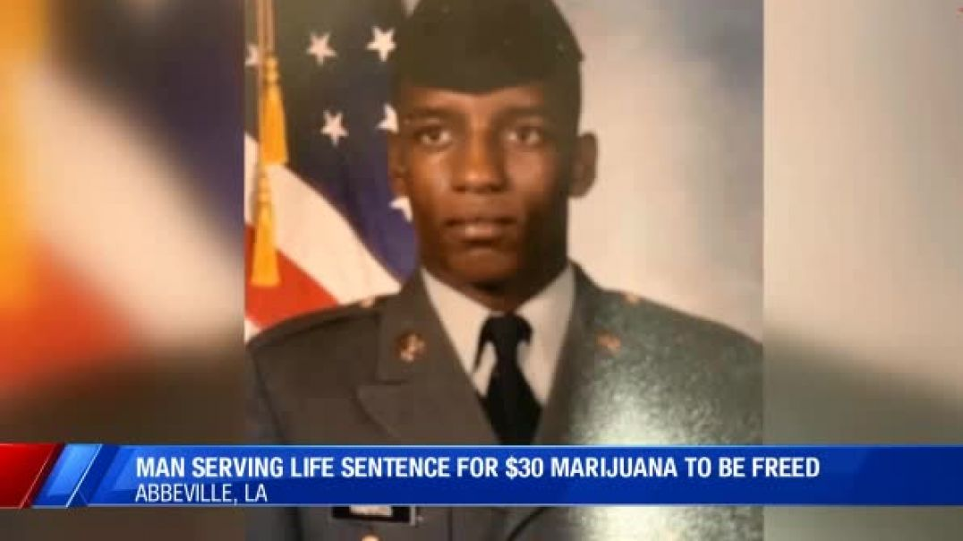 Black Vet Sentenced To Life For Selling $30 Worth Of Marijuana To Be Freed