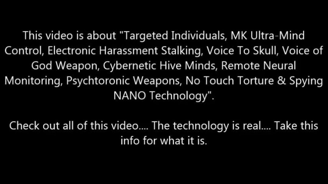 Voice of God Weapon, Synthetic Telepathy, Cybernetic Hive Minds MK Ultra