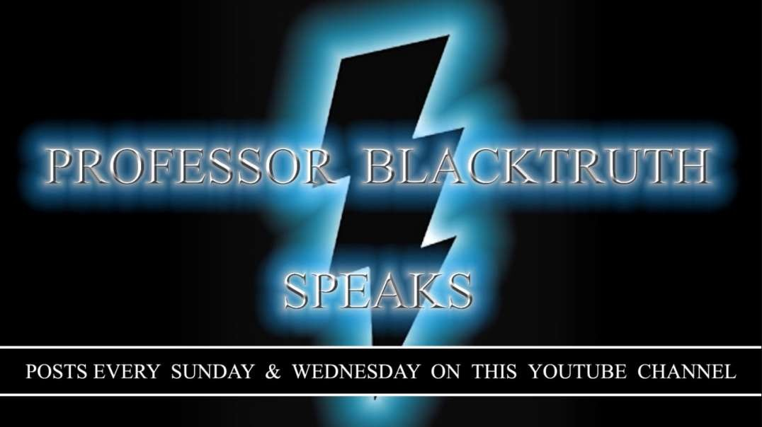 Professor Black Truth - Reparations Are ONLY For The Children Of U.S Slaves - Deal With It
