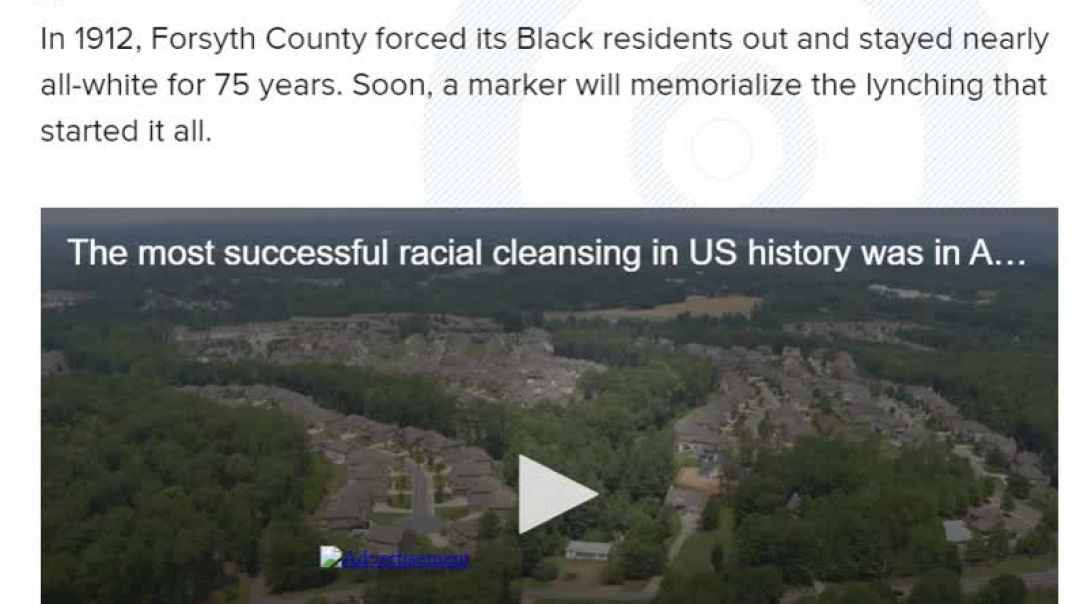 Most Successful Racial Cleansing in U.S History For 75 Years