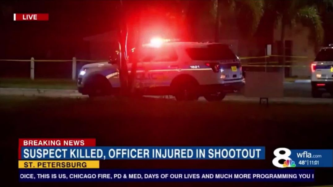 20 Year Old Black Man Killed In Shootout With St. Petersburg Cops