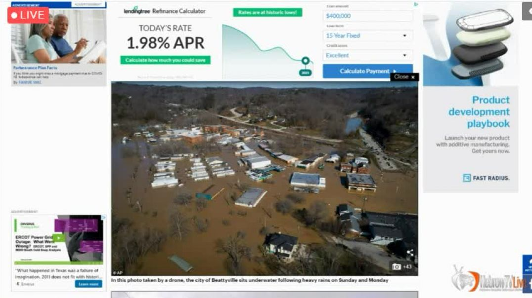 Klantucky Town Under Water Over 1000 Evacuees - Justice For Breona Taylor