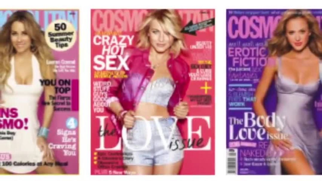 The Cover of Cosmo Transvestigation